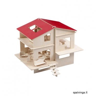 Lėlių namelis iš faneros