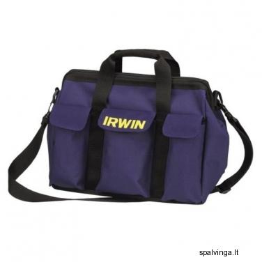 Įrankių krepšys minkštais šonais IRWIN