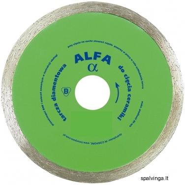 Deimantinis pjovimo diskas ALFA IN CORPORE, skersmuo 125 mm