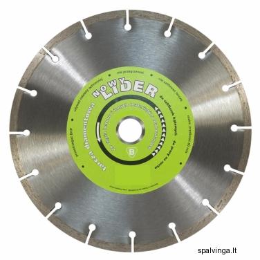 Deimantinis pjovimo diskas LIDER IN CORPORE, skersmuo 230 mm