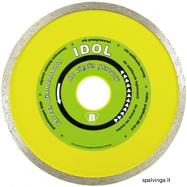 Deimantinis pjovimo diskas IDOL IN CORPORE, skersmuo 200 mm
