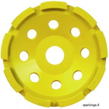 Deimantinis šlifavimo diskas AS2 125 mm, 2 eilės