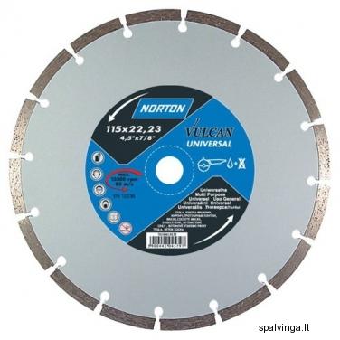 Deimantinis pjovimo diskas VULCAN UNIVERSAL NORTON, skersmuo 230 mm
