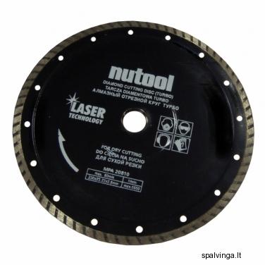 Deimantinis pjovimo diskas TURBO NUPOWER, skersmuo 230 mm