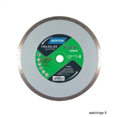 Deimantinis pjovimo diskas VULCAN CERAM NORTON, skersmuo 180 mm