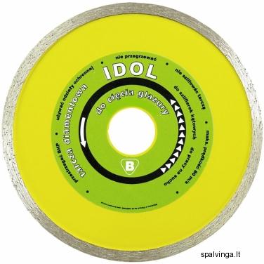 Deimantinis pjovimo diskas IDOL IN CORPORE, skersmuo 180 mm