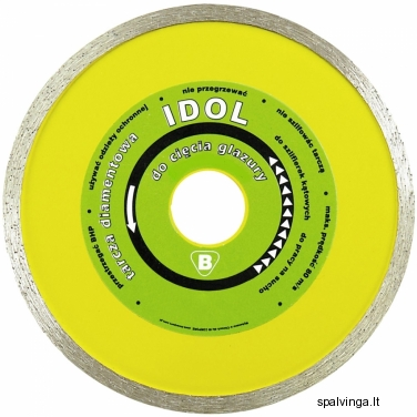 Deimantinis pjovimo diskas IDOL IN CORPORE, skersmuo 125 mm