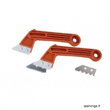 Įrankis plytelių siūlėms šalinti 50 mm, 2 ašmenys DEDRA