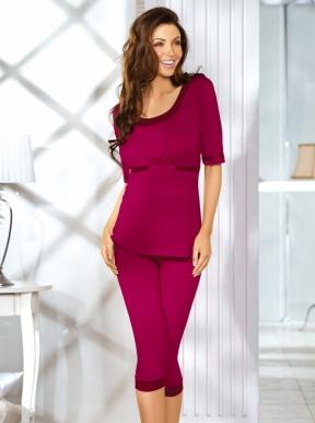 Babella pižama KATI (rubino spalvos)