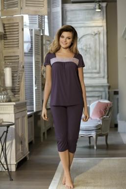 Pižama DELFINA (2 spalvos) iki 4XL dydžio