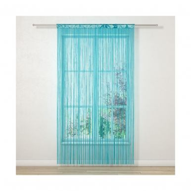 Durų uždanga INSPIRE 140x250 cm (mėlyna)