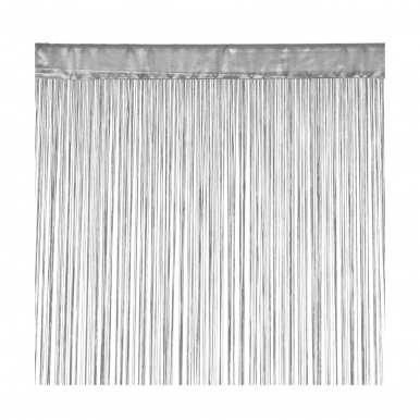 Durų uždanga INSPIRE 90x250 cm (pilka)
