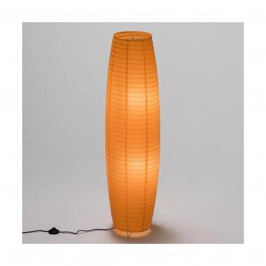 Pastatomas šviestuvas su popieriniu gaubtu INSPIRE 2x60W oranžinis