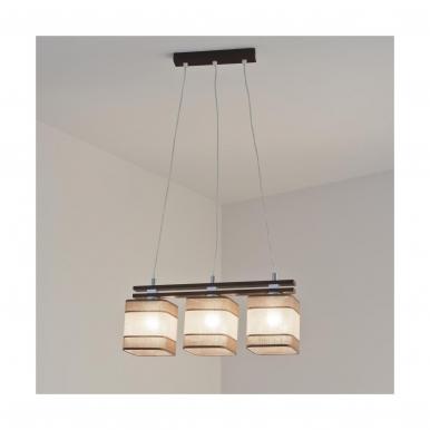 Pakabinamas šviestuvas BELT/W3/J 3 x 60 BELT